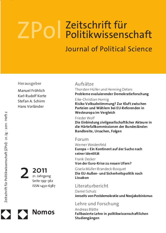 ZPol Ausgabe 2 / 2011